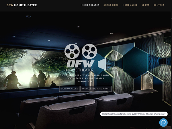 DFW Home Theater Website
